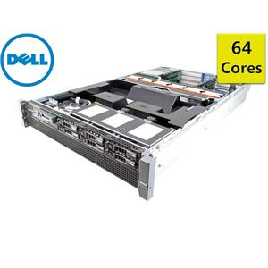DELL PowerEdge R815 Server 4×Opteron 16-Core 2.3GHz + 256GB RAM + 6×300GB SAS