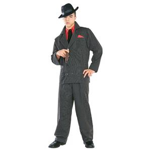 Gangster Man Adult Costume Standard Size