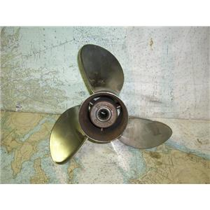 Boaters Resale Shop of TX 1809 1424.04 MICHIGAN WHEEL 013033 THREE BLADE PROP