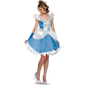 Disney Disguise Deluxe Sassy Cinderella Costume Size Medium 8-10