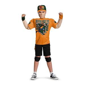 John Cena Classic Muscle WWE  Child Costume Small 4-6