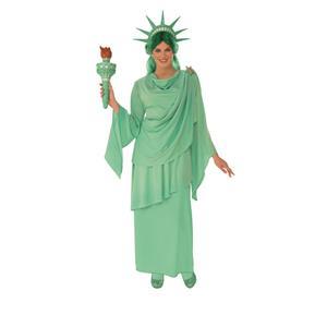 Rubie's Women's Classic Lady Statue Liberty Costume Size Small