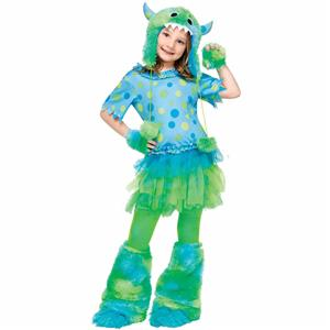 Monster Miss Toddler Child Girls Costume 2T
