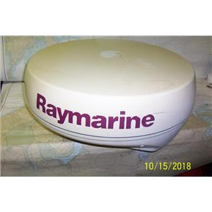 "Boaters Resale Shop of TX 1810 0422.12 RAYMARINE M92652-S 4KW 24"" RADAR DOME"