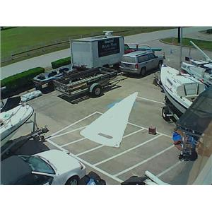 Star Boat Jib w Luff 19-5 from Boaters' Resale Shop of TX 1805 0755.95