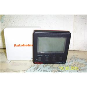 Boaters Resale Shop of TX 1810 1427.04 AUTOHELM Z146 NAVDATA DISPLAY WITH COVER