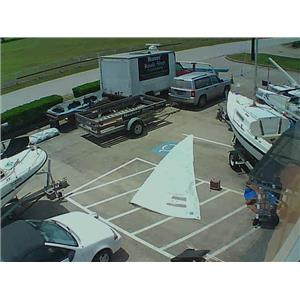 Star Boat Jib w Luff 19-3 from Boaters' Resale Shop of TX 1805 0755.93