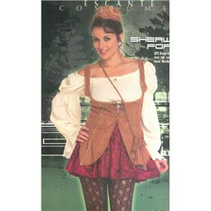 Sherwood Forest Maid Marian Sexy Adult Costume Size Medium