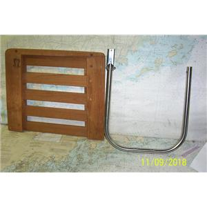 Boaters' Resale Shop of TX 1810 0422.74 SEATEAK 60918 SWIM PLATFORM & BRACKET
