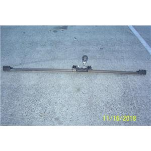 """Boaters Resale Shop of TX 1801 1155.01 TRAVLER 76.5"""" TRACK, ANTAL CAR & BLOCKS"""