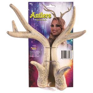 Forum Novelties Realistic Reindeer Antlers on Elastic Band