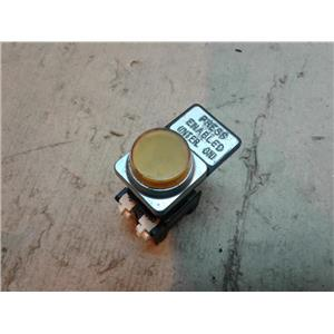 Telemecanique DFSN 250v light module with yellow lamp 2w
