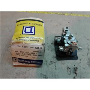 Square D 8501CO14 Control Relay 115/230/600 VAC 10 A Amp