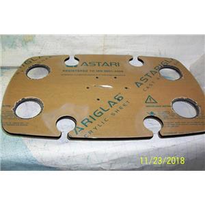 "Boaters Resale Shop of TX 1811 1775.14 COCKPIT TABLE TOP FOR 2.25"" PEDESTAL"