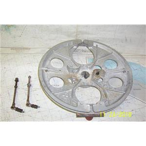 Boaters Resale Shop of TX 1811 4101.35 EDSON C-204 RADIAL DRIVE WHEEL WITH KEY