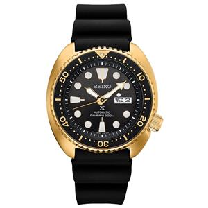 Seiko Watch Mens SRPC44 Gold Tone 200M Divers. Batteryless Automatic/Mechanical.