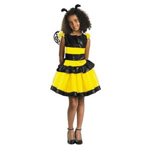 Razzle Dazzle Bee Child Costume Size Small 4-6