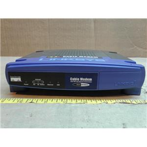 Linksys BEFCMU10 ver. 4 Cable Modem *NO POWER SUPPLY OR CABLES*