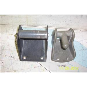 Boaters Resale Shop of TX 1810 1445.05 FORESPAR SPINNAKER POLE DECK CHOCK SET