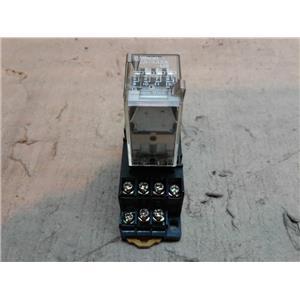 Omron G2A-432A Relay 24V DC24V Coil 24VDC w/ Relay Socket