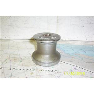 Boaters Resale Shop of TX 1811 1777.04 BARLOW 15 CHROME PLATED 1 SPEED WINCH