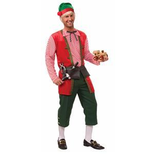 Men's Toy Maker Elf Adult Costume