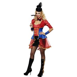 Women's Sexy Ringmaster Circus Costume Size X-Small 4-6