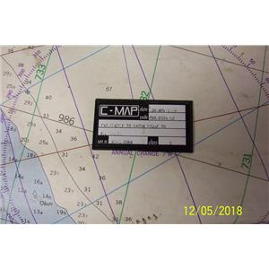 Boaters Resale Shop of TX 1203 0503.28 C-MAP NA-B509.02 ELCTRONIC CHART CARD