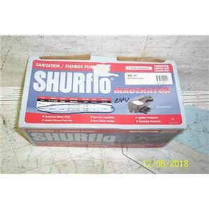 Boaters Resale Shop of TX 1811 0427.01 SHURFLO 3200-011 MACERATOR 24 VOLT PUMP
