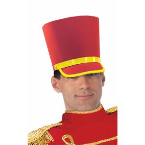 Nutcracker Adult Red Deluxe Toy Soldier Hat