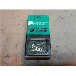 Panduit P14-6R-C RING TERMINAL NON-INSULATED 18-14 AWG #6 STUD SIZE *BOX OF 100
