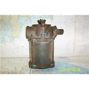 """Boaters Resale Shop of TX 1811 2271.01 PERKO 9"""" BRONZE STRAINER WITH BASKET"""