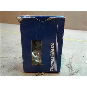 """Thomas & Betts D8-14-SK Pressure Terminal Connector For 1/4"""" Bolt *BOX OF 16*"""