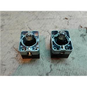 Automation Direct ECX-1050-BA9 Contact for Illuminated Pushbutton *LOT OF 2*