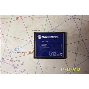 Boaters Resale Shop of TX 1801 0721.27 NAVIONICS CF/16XG COMPACT FLASH CHART