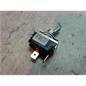McGill 0090-0003 TOGGLE SWITCH SPST ON-OFF .250 SPADE TERMINAL 10AMP 250VAC
