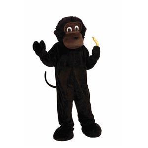 Gorilla Monkey Adult Big Head Mascot Costume