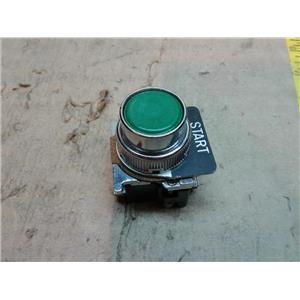 Cutler Hammer 10250T N/O Contact Green Push Button 10250T
