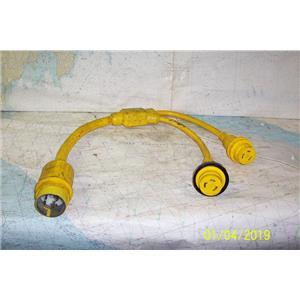 Boaters Resale Shop of TX 1810 0257.01 MARINCO 152AY SHOREPOWER Y ADAPTOR