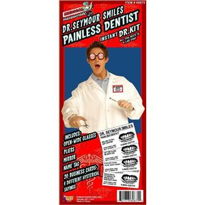 Dr Seymour Smiles Kit Humorous Adult Costume Kit