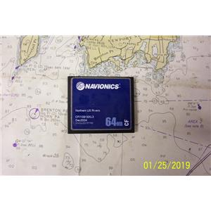 Boaters Resale Shop of TX 1801 0721.32 NAVIONICS CF/1G918XL3 COMPACT FLASH CARD