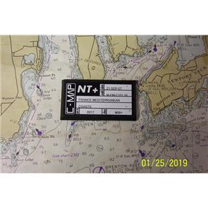Boaters Resale Shop of TX 1812 2747.04 C-MAP NT+ M-FM-C101.16 CHART CARD FRANCE