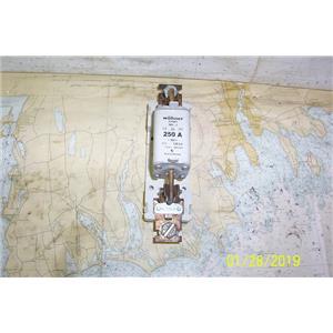 Boaters Resale Shop of TX 1812 2747.01 WOHNER 03561 250 AMP FUSE & HOLDER