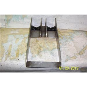 Boaters Resale Shop of TX 1901 2454.84TAINLESS STEEL DUAL BOW ROLLER ASSEMBLY