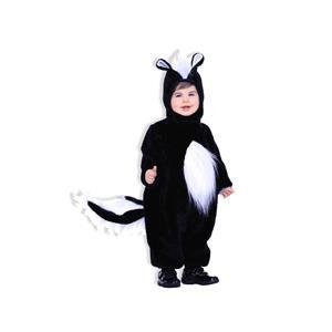 Plush Skunk Child Costume Size Toddler
