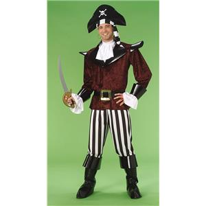 Pierre the Velvet Pirate Adult Costume Size Standard