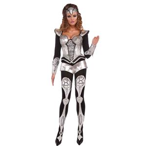Forum Outta Space Sexy Cyborg Costume XS/SM
