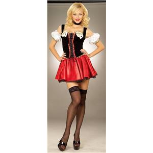 Forum Novelties Adult Sexy Playing Cards Girl Costume Size Women's X-Small