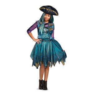 Disney Uma Classic Descendants 2 Costume, Teal, X-Large (14-16)