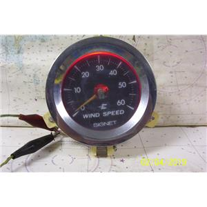 Boaters Resale Shop of TX 1901 2721.25 SIGNET MK19 WIND SPEED DISPLAY ONLY